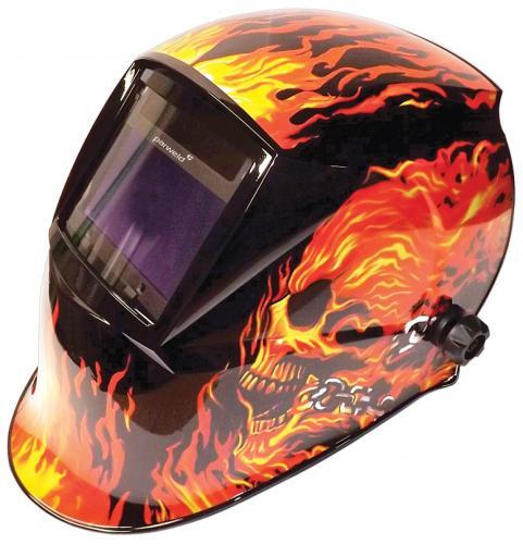 "Parweld XR938H True colour ""flames"" svetshjälm"