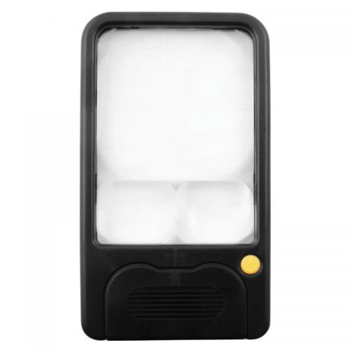 Handhållet förstoringsglas 3x/5x/7x LED-belysning