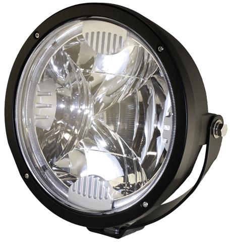 """Extraljus LED 9"""" 9-33V 35W"""