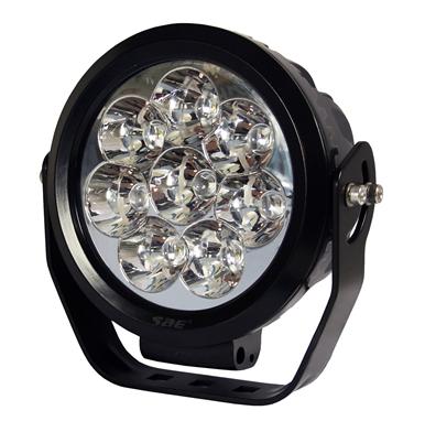 "Extraljus LED 7"" 9-36V 8x10W CREE"