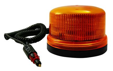 Blixtljus Låg 12-24V LED Magnetfäste