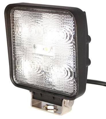 Arbetsbelysning Slim LED 5x3w (12.5w) Wide fyrkantig