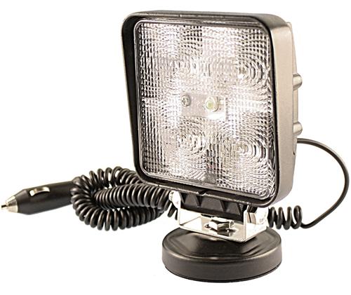 Arbetsbelysning Slim LED 5x3w (12,5W) Wide fyrkantig