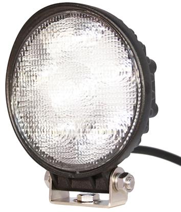 Arbetsbelysning Slim LED 6x3w (13.5w) Wide rund