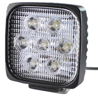 SAE LED-arbetsbelysning 7x5w (28w) Wide fyrkantig