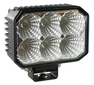 Flextra arbetsbelysning LED-6 6x3w (15w) Wide