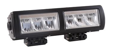Extraljusramp-2 LED 9-36V 18x3W CREE