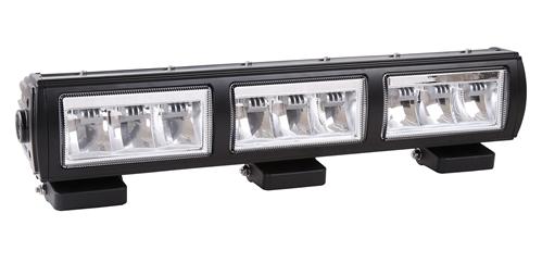 Extraljusramp-3 LED 9-36V 27x3W CREE