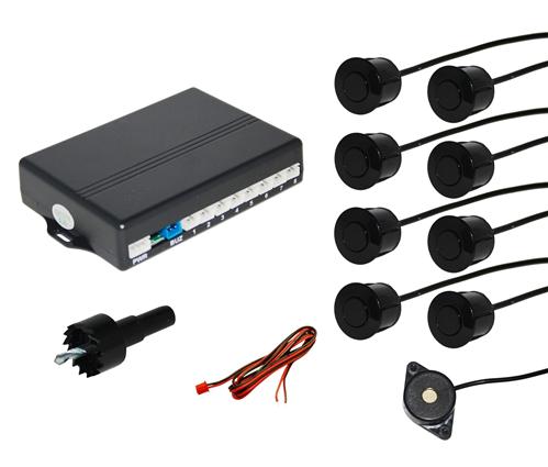 Backvarnare med 8 sensorer