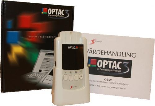 Stoneridge OPTAC 3 handverktyg till färdskrivare startkit
