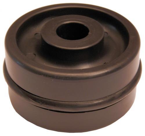 AC framhjul med o-ring 80mm (DK13-DK20)