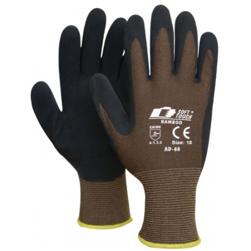 Soft Touch® Eco Bamboo arbetshandske, trädgårdshandske
