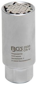 "BGS Technic 3/8"" multihylsa 9-21mm"