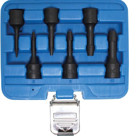 """BGS Technic 3/8"""" skruvutdragarsats 2-10mm"""