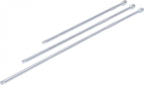 """BGS Technic 1/4"""" XL förlängare set 3st 300, 380, 450mm"""