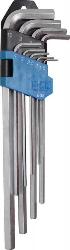 BGS Technic insexnyckelsats (extra långa) 1,5-10mm