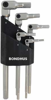 Bondhus HEX-PRO ledade insexnycklar 3-8mm