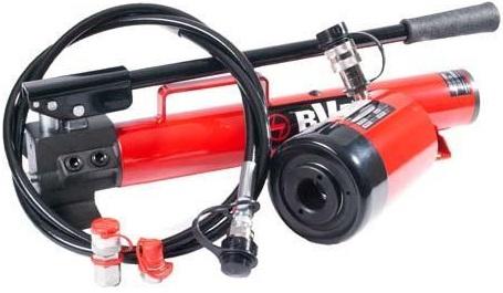 BVA Hydraulics hålcylinderkit med handpump (20 ton)