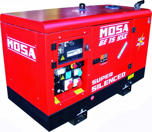 Mosa GE15 YSX EAS AVR elverk