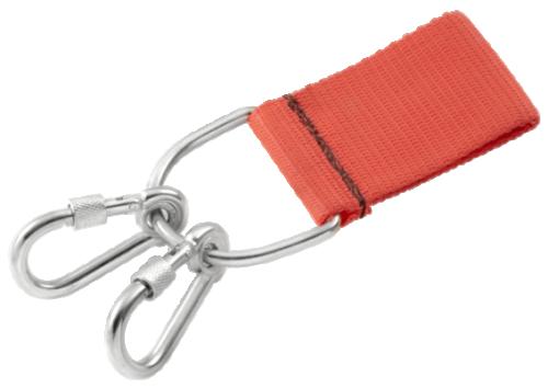 FACOM SLS - D-ring för bälte med 2 fasta karbinhakar