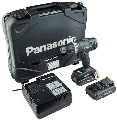 Panasonic EY7451PN2S skruvdragare 18V 2x3,0Ah