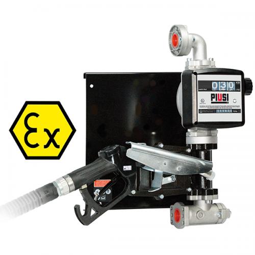 Piusi EX50 ATEX-bränslepump för fat 230V inkl. K33-mätare