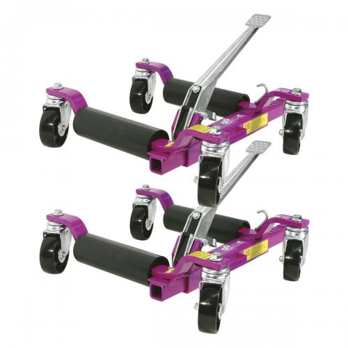 GoJak 5000 hjuldolly höger/vänster (2st)