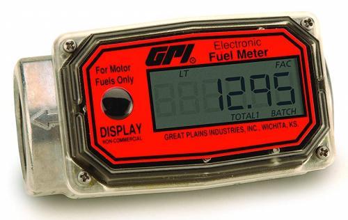 "GPI dieselmätare digital 1"" för slangmontage"