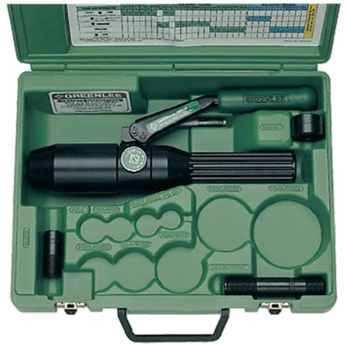 Greenlee hydraulisk hålstanssats 7804E (rak)