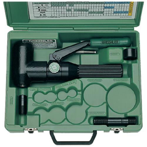 Greenlee hydraulisk hålstanssats 7904E (90° vinklad)