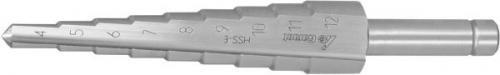 Garant stegborr HSSE (4-12mm med 1,0mm-steg)
