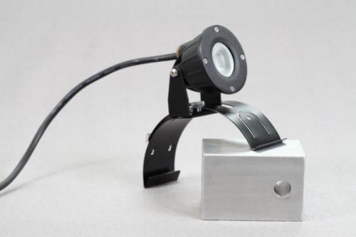 Hammarlunda LED-spot för hängränna 1W OBS SVART UTGÅTT