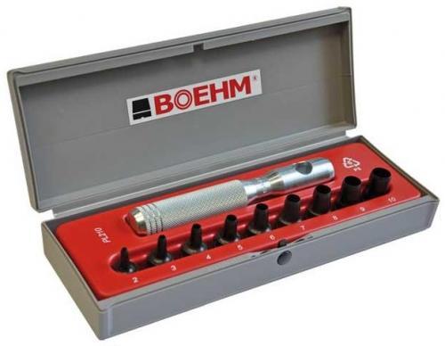 Boehm JLB 210 huggpipesats 2-10mm