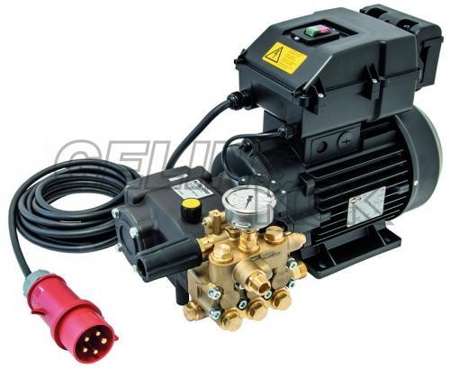 Kränzle RP1400 stationär högtryckspump/motor + elbox/kabel