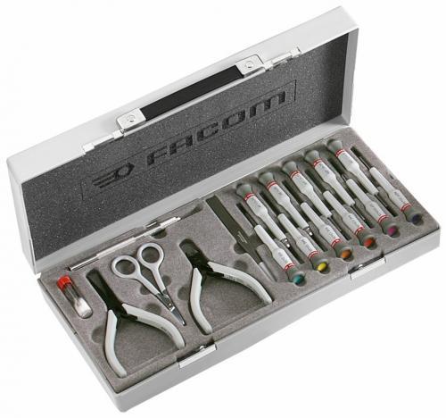 Facom MT.J1Micro-tech verktygssats (16 delar)