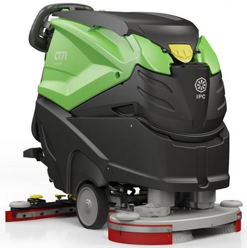 IPC CT71 BT60 Cleantime kombiskurmaskin