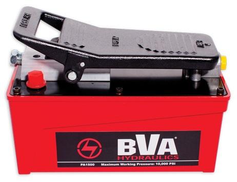 BVA Hydraulics tryckluftsdriven hydraulpump 700 bar (1500cm³)