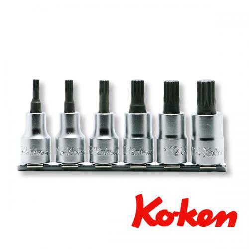 """Koken 1/2"""" XZN 100mm M5-M14 sats"""