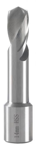 Spiralborr HSS 6-14mm weldon-fäste