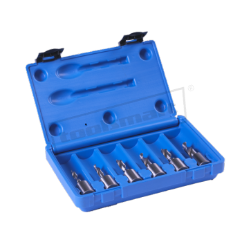Euroboor Weldonfäste HSS spiralborr-kit mini 6-11mm
