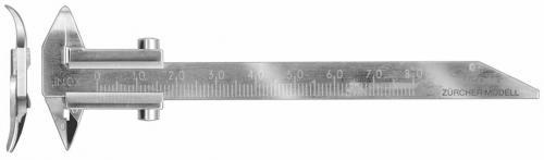 Sliding caliper 0-80 mm, Z
