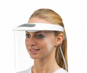 PROTECTIVE VISOR WITH FRAME
