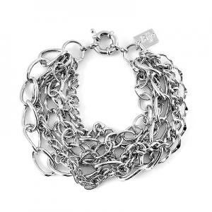 Silverfärgat armband från Bijjo