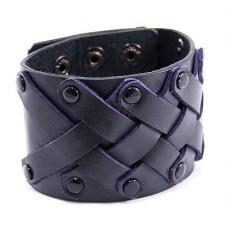 Konstläder armband