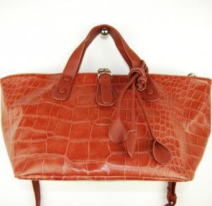 Ljusbrun väska