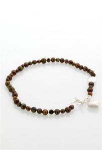 Halsband Eira brunt från Baglady