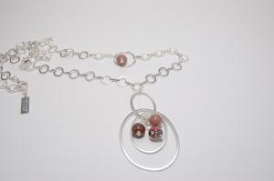 Halsband Paula beige från Baglady