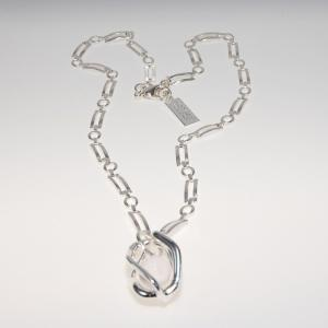 Halsband Penelope vit från Baglady