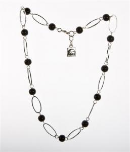 Halsband Anna svart från Baglady