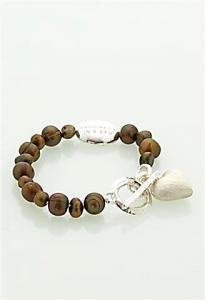 Armband Eira brunt från Baglady
